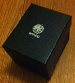 プレゼントにもらった時計の貼り箱
