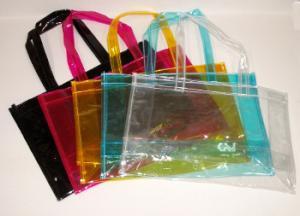 好きです。「カラフルなビニール製透明バッグ」