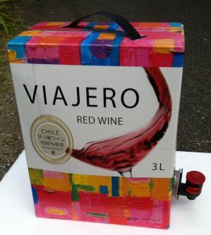シンプルで良い発想のワインパッケージ