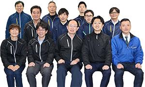 大阪本社のスタッフ写真