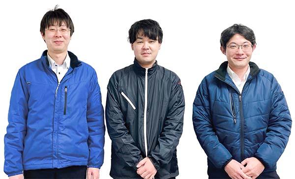 東京営業所のスタッフ写真