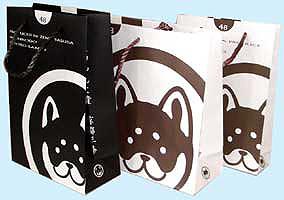 和んこ堂さんの紙袋 いい仕上がりです。