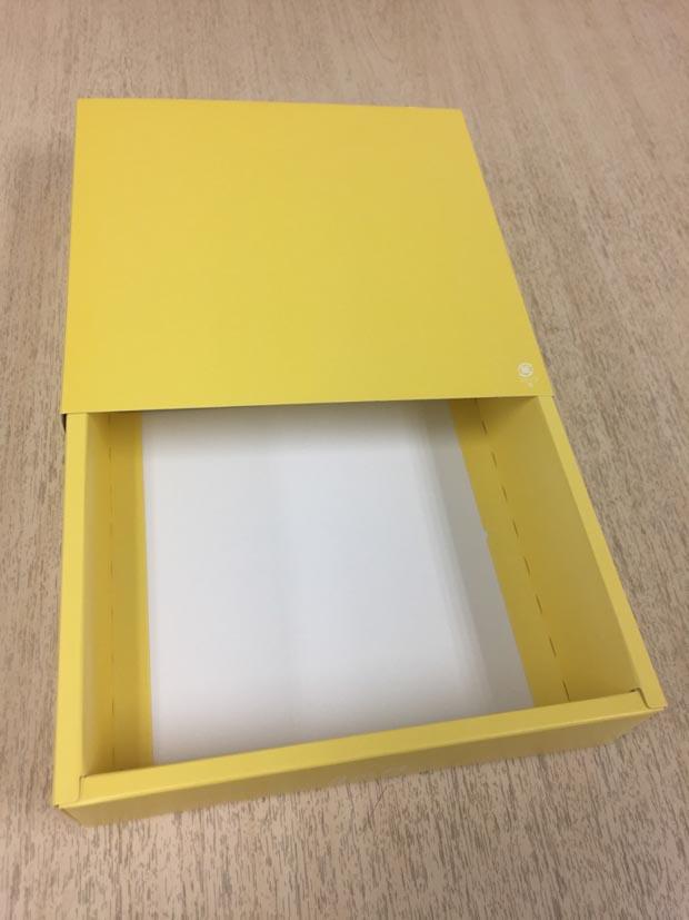 スリーブ式・お土産で頂いた紙箱