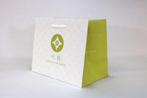 紙袋フルオーダー【003】片艶晒クラフトの詳細はこちら
