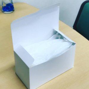 マスク箱(無地既製品のご案内)