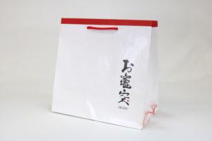 紙袋フルオーダー【011】片艶晒クラフトの詳細はこちら
