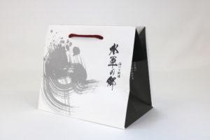 紙袋フルオーダー【014】片艶晒クラフトの詳細はこちら