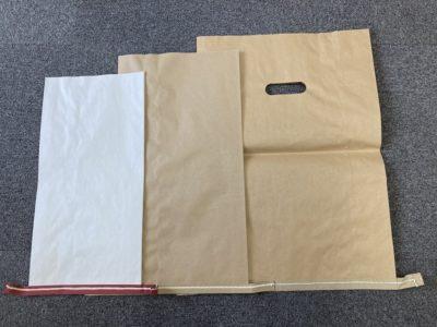宅配袋にセメント袋はいかがでしょうか。