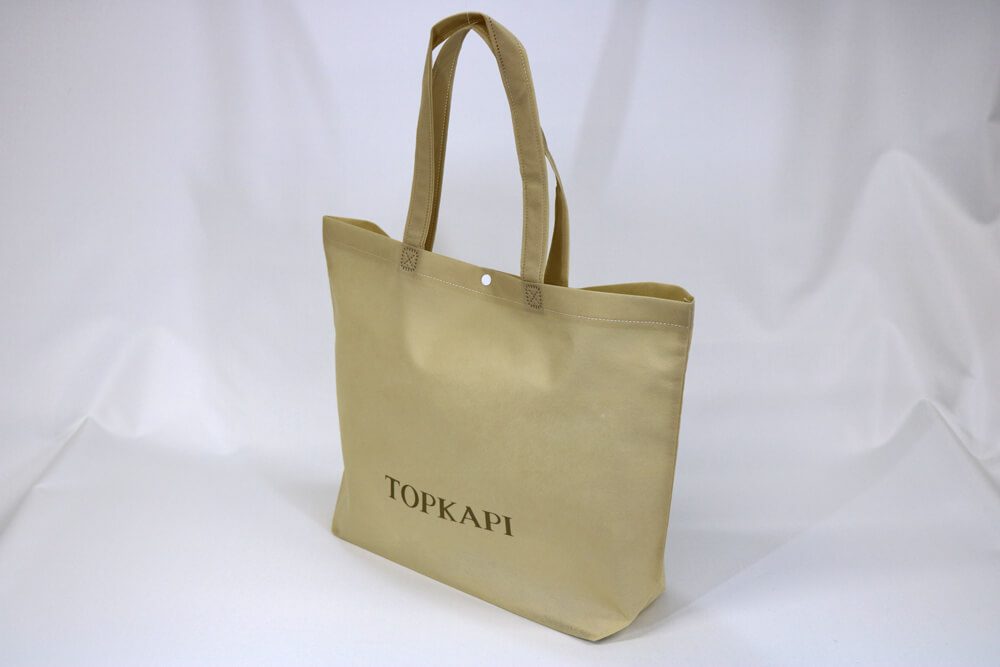PP不織布75g/㎡ のシルク印刷片面1色のセミオーダー不織布バッグ