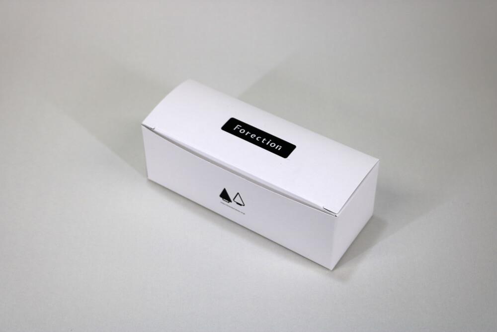 カードBにオフセット印刷1色した組立て紙箱