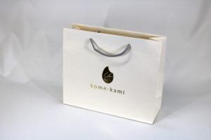 紙袋セミオーダー【013】Kome-Kamiの詳細はこちら